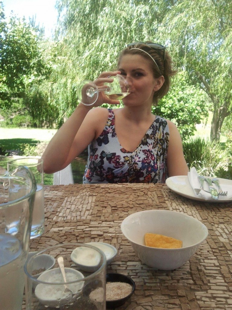 Wine tasting